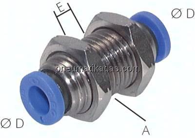 alle Größen Steckverbinder Manometer mit Steckanschluss