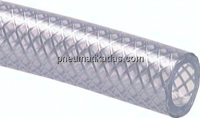 10m Rolle PVC Druckluft-Schlauch 13mm Gewebeschlauch PVC-Schlauch Pneumatik