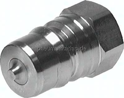 Schalld/ämpfer mit Au/ßengewinde NPT 1//8 Material Edelstahl